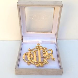 💯Authentic NEW Vintage Dior Brooch